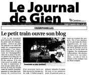 Article du 9 janvier 2014 du Journal de Gien