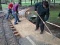 Réalisation d'un quai/trottoir en bordure de voie - 1