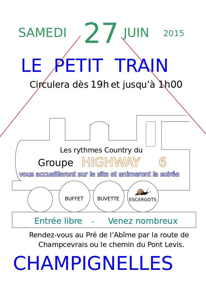 Feu de la St Jean à Champignelles 2015